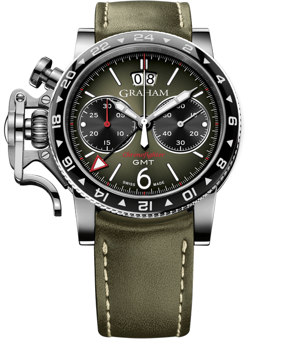 GRAHAM CHRONOFIGHTER VINTAGE GMT 2CVBC.G01A.L141S