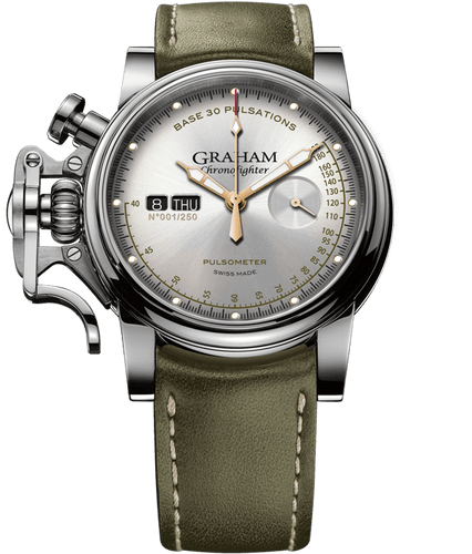 GRAHAM CHRONOFIGHTER VINTAGE PULSOMETER 2CVCS.S01A.L141S