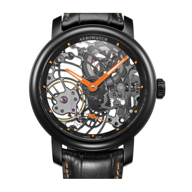 AEROWATCH RENAISSANCE SKELETON 50931 NO08