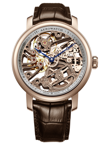 AEROWATCH RENAISSANCE SKELETON 50931 RO01