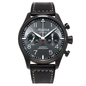 "ALPINA STARTIMER PILOT ""BLACK STAR"" AL- 860GB4FBS6"