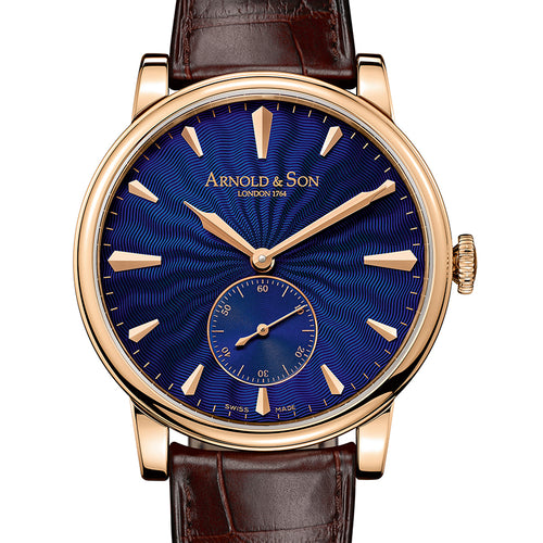 ARNOLD & SON HMS1 ROYAL BLUE 1LCAP.U02A