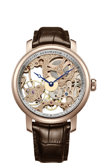 AEROWATCH RENAISSANCE SKELETON 57931 RO01