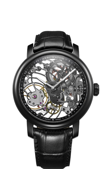AEROWATCH RENAISSANCE SKELETON 50931 NO01