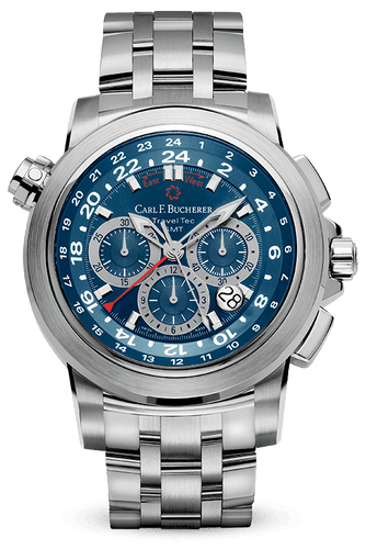 CARL F. BUCHERER PATRAVI TRAVELTEC 00.10620.08.54.21