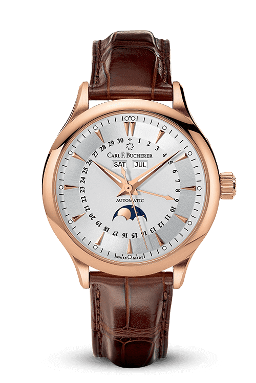 CARL F. BUCHERER MANERO MOONPHASE 00.10909.03.13.01