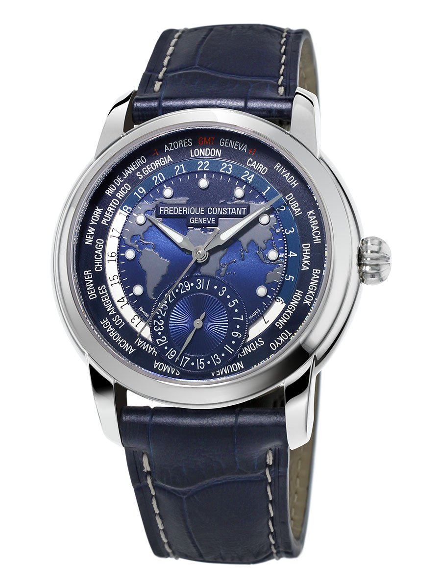 FREDERIQUE CONSTANT CLASSIC WORLDTIMER MANUFACTURE FC-718NWM4H6