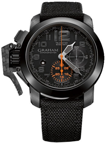 GRAHAM CHRONOFIGHTER OVERSIZE BLACK FOREST 2CCAU.B01A.T12N