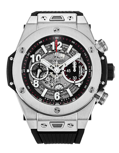 HUBLOT BIG BANG UNICO TITANIUM 45 MM FLYBACK 411.NX.1170.RX