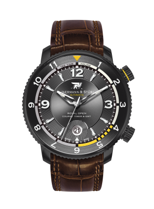 JAERMANN & STUBI ROYAL OPEN COURSE TIMER & GMT RC3