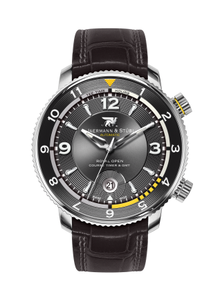 JAERMANN & STUBI ROYAL OPEN COURSE TIMER & GMT RC2