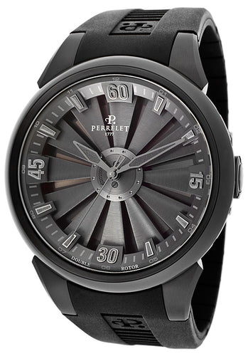 PERRELET TURBINE ALL BLACK 44 MM - A1047/2