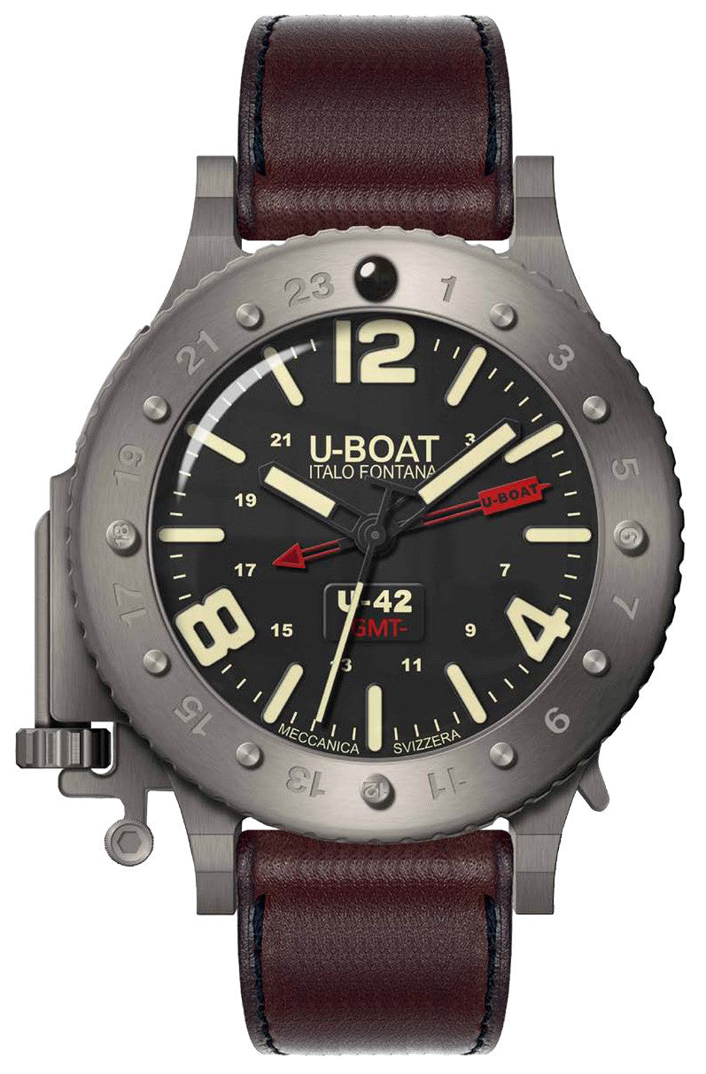 U-BOAT U-42 AUTOMATIC 50 MM GMT 8095