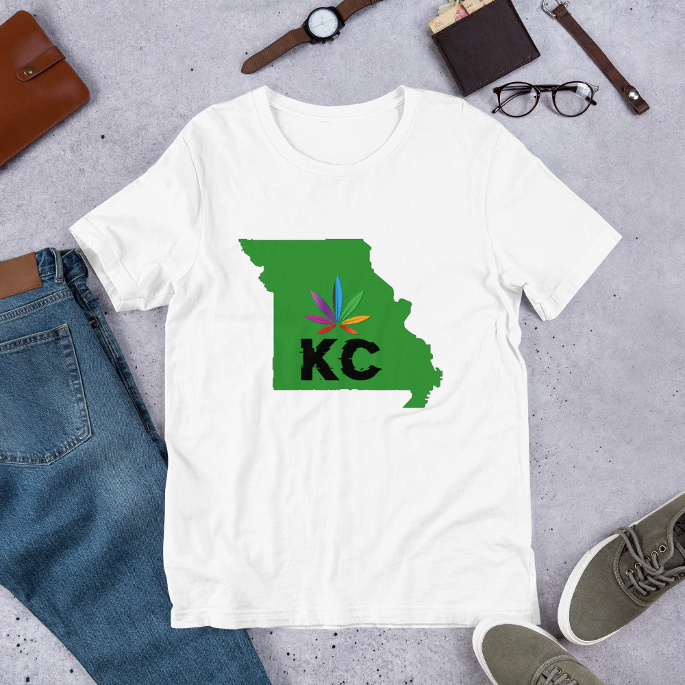 KC Grow Short-Sleeve Unisex T-Shirt - HUSTLEKC