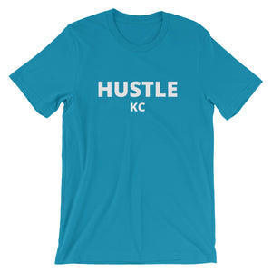 Hustle KC Short-Sleeve Unisex T-Shirt - HUSTLEKC