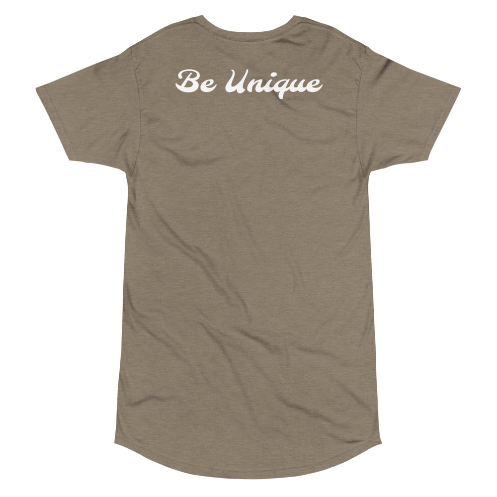 Be Unique Long Body Urban Tee - HUSTLEKC