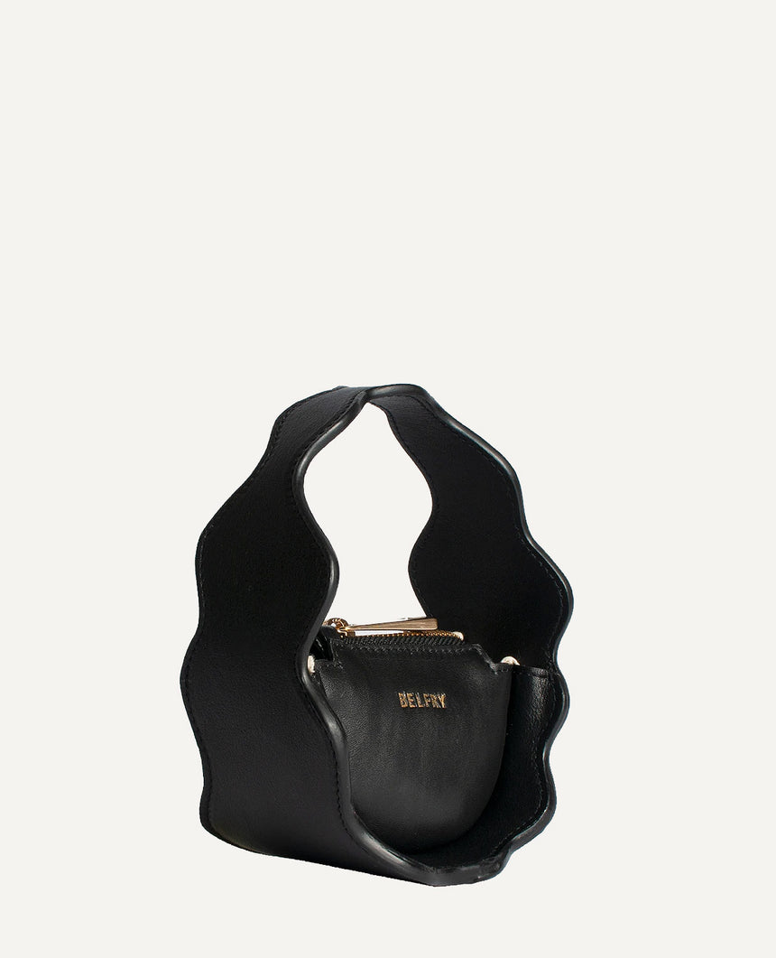 Mini Bolso negro · The Mountain · 404 STUDIO x BELFRY