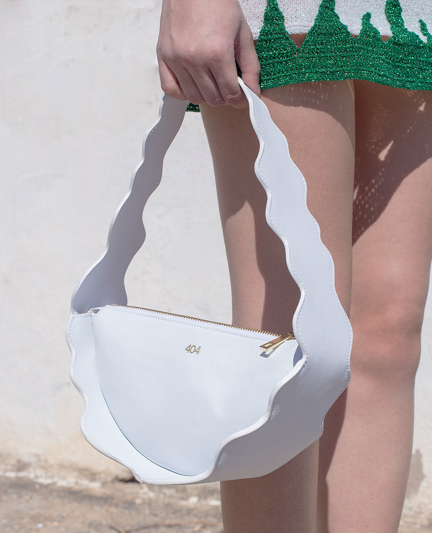Bolso blanco · The Mountain · 404 STUDIO x BELFRY