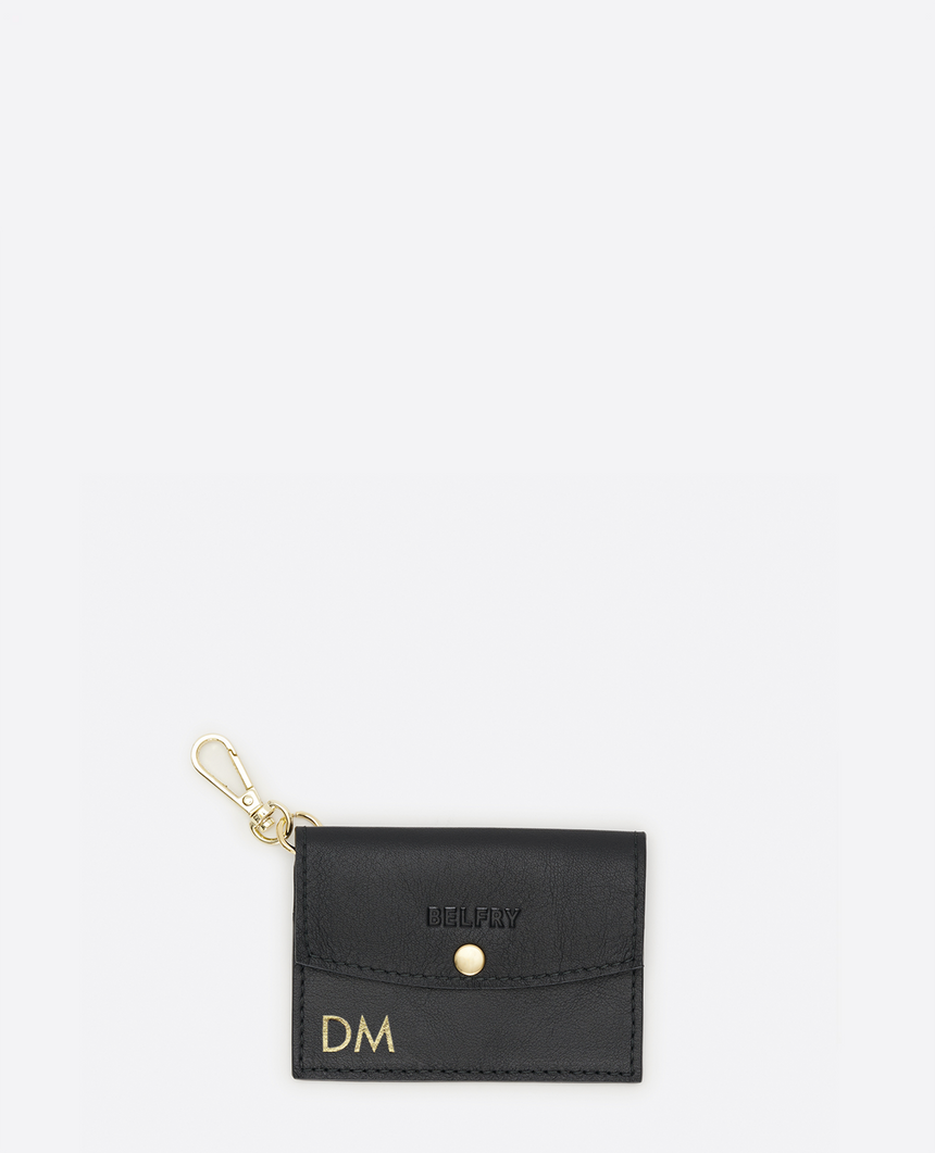 Monedero personalizable negro · The Remei