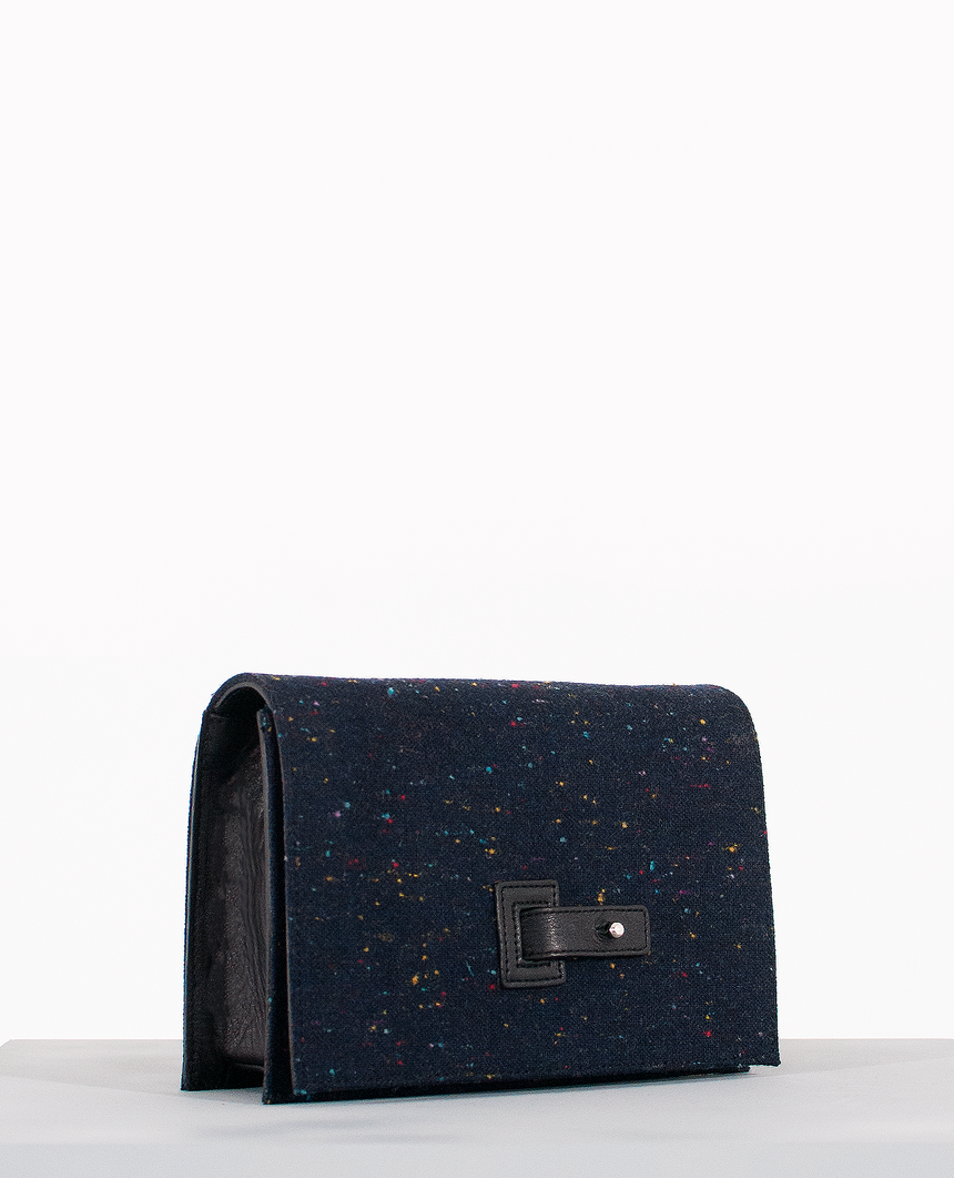Bolso Clutch de piel · The Valera · Perseo Collection
