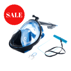 ABTECH snorkel mask full face Adult