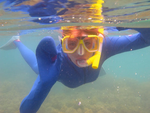 Snorkeling in Cold Water
