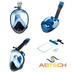 Snorkel Mask - Adult Single Pack-ABTECH Sport