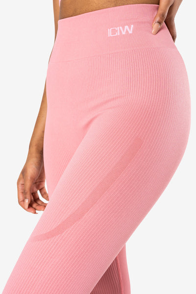 "Tamprės ""Ribbed Dusty Rose"" - apranga sportui - shopgetuse.lt"