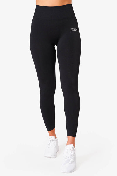 "Tamprės ""Scrunch Seamless Deep Black"""
