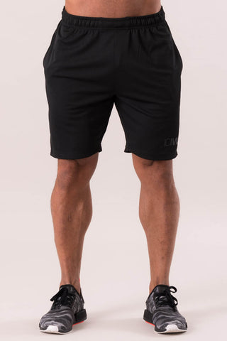 "Šortai ""Perform Shorts Black White"" - apranga sportui - shopgetuse.lt"