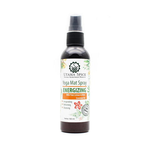 Energizing Yoga Mat Spray