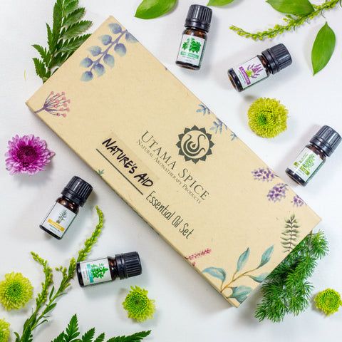 Nature's Aid Essential Oil Set