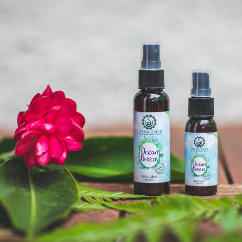 body mist, body spray, cooling body mist, cooling body spray, refreshing body mist, natural spray, natural body spray, Singapore natural beauty, lavender oil, bergamot essential oil, lavender essential oil, cajeput essential oil,