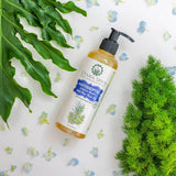all natural liquid soap made with cold-pressed coconut oil, castor oil and essential oils. contains naturally antibacterial neem essential oil. suitable for sensitive skin.