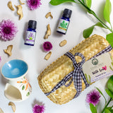 Travel sized diffuser, Lavender Essential Oil & Cajeput Essential Oil for frequent travellers based in Singapore. 100% natural.