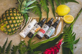 virign coconut oil yoga mat spray holiday spray body mist insect repellent bug spray body mist Agar, Aqua, Ethanol (Grain Alcohol), Lavandula Angustifolia (Lavender) Oil, Citrus Bergamia (Bergamot) Peel Oil, Melaleuca Leucadendron (Cajeput) Leaf Oil, Rosmarinus Officinalis (Rosemary) Leaf Oil, gift set, holiday set, travel gift set, travel essentials singapore, insect repellent singapore, bug spray singapore,