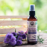 yoga mat spray lavender essential oils natural cleaning