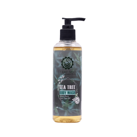 tea tree body wash castor oil soap