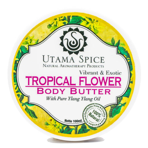 Tropical Flower Body Butter - Utama Spice Singapore