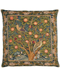 Woodpecker Tapestry Cushion (Large)