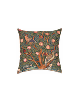 Woodpecker Tapestry Cushion (small)