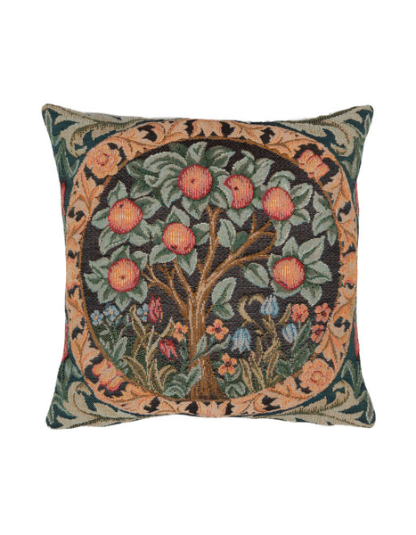 Orange Tree Tapestry Cushion (medium)