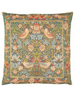 Strawberry Thief Tapestry Cushion (Large)