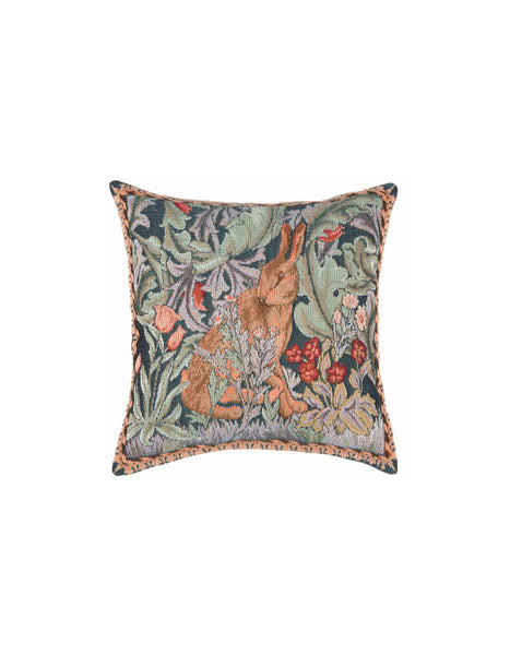 Hare Tapestry Cushion (left - small)