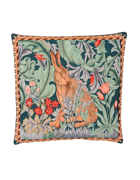 Hare Tapestry Cushion (right - medium)