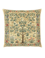 Tree of Life Tapestry Cushion (medium - light)