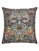 Peacock & Dragon Tapestry Cushion (Large)