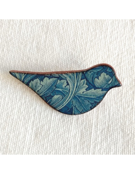 Acanthus Bird Brooch