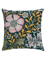 Compton Teal Tapestry Cushion (Large)
