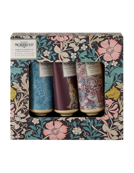 Morris & Co Pink Clay & Honeysuckle Hand Cream Collection
